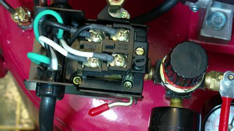 how to set the pressure switch on your harbor freight air
