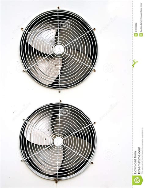 fan on air conditioner air conditioning fan stock photo image of electric air