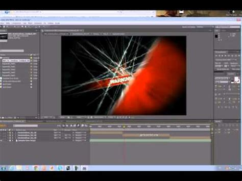 tutorial intro adobe after effects cs4 tutorial adobe after effects cs4 cycorefx crear intro