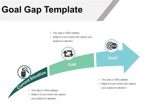 Goal Gap Template Powerpoint Slide Powerpoint Slide Images Ppt Design Templates Gap Analysis Template Powerpoint