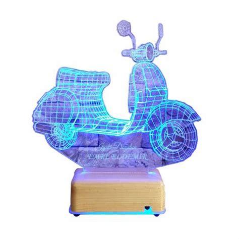 scoter motor isimli gece lambasi led lamba dogum guenue