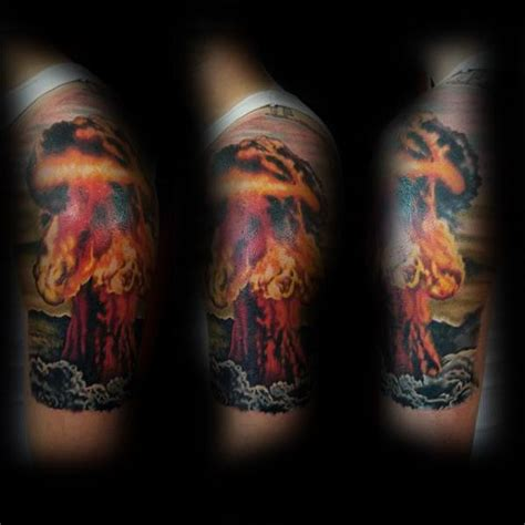 mushroom cloud tattoo atomic bomb designs www pixshark images