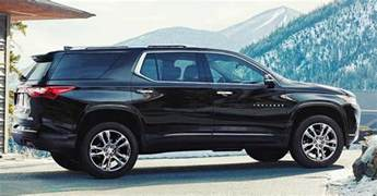 all new 2018 chevy traverse bigger and bolder family suv