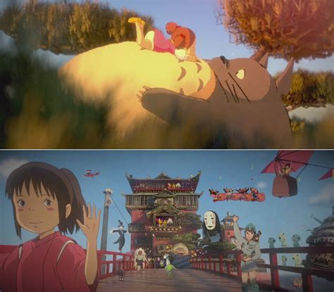 film d animation ghibli beautiful 3d stylized tribute to hayao miyazaki films