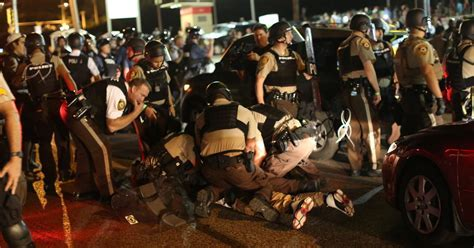 Emergency Declared in Ferguson After Shooting   The New