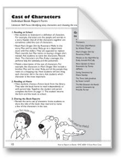 book report letter to parents 1000 images about book report on book