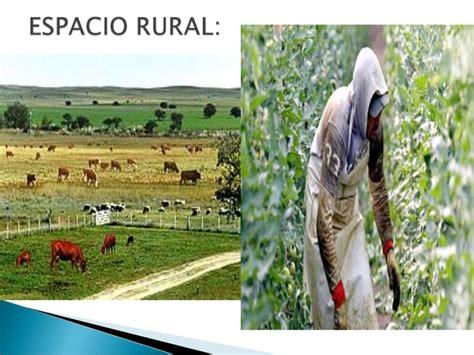 imagenes espacios urbanos y rurales espacio rural y urbano