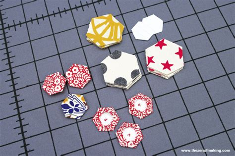 review accuquilt english paper piecing hexagon dies