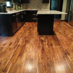 Distressed Black Kitchen Island acacia natural plank hardwood flooring acacia confusa