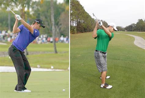 best pro golf swing to copy the myth of the turn in the golf swing golfdashblog