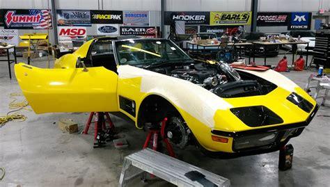 hour corvette updated ridetech s 1972 48 hour corvette build vettetv