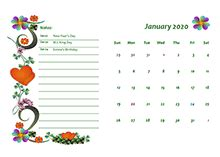 calendar templates  printable templates  holidays