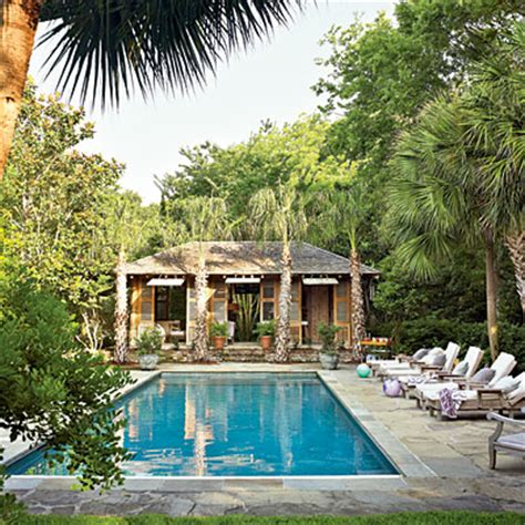 backyard escapes pools mix and chic exotic backyard escape