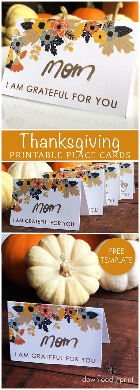 thanksgiving table name cards best 25 thanksgiving place cards ideas on