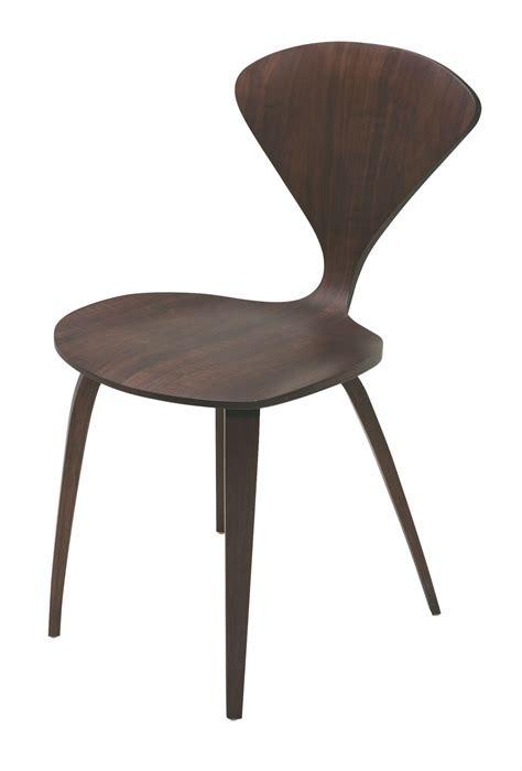 satine walnut wood dining chair hgem358 nuevo