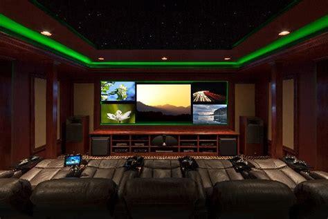 dramatic led lighting enhances   viewing