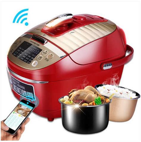 wifi cooker free shipping electric pressure cooker 5l intelligent rice