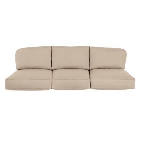 replacement garden sofa cushions brown northshore replacement outdoor sofa cushion