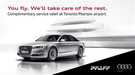 Audi Airport by Toronto Pearson Airport Valet Service Hj Pfaff Audi