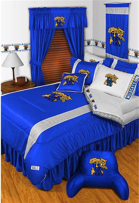 louisville bedding ncaa kentucky wildcats bedding and room decorations