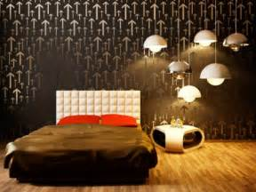 Bedroom wall paint graphics