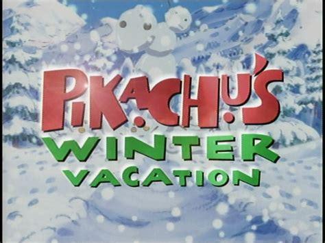 pikachus winter vacation bulbapedia  community