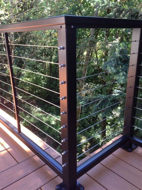 Stainless Steel Deck Railing Stainless Steel Cable Railing Deck Masters Llc