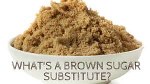 what can i use as a brown sugar substitute
