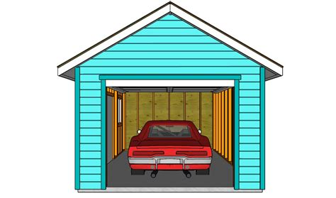 How To Construct A Garage by How To Build A Detached Garage Howtospecialist How To
