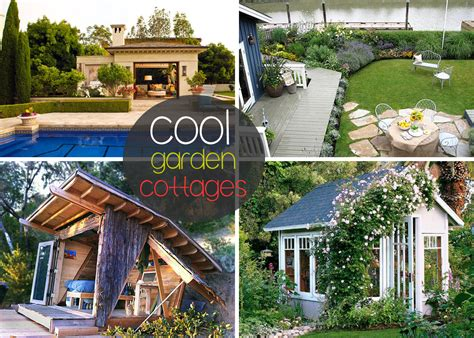 cool garden ideas garden cottages and small sheds for your outdoor space