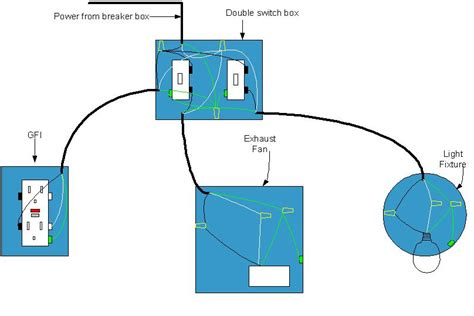 electrical diagram for bathroom bathroom wiring diagram