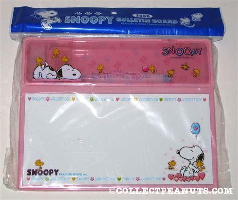 Snoopy Desk Accessories Peanuts Desk Sets Pieces Collectpeanuts