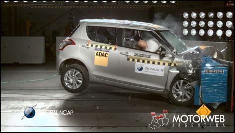 Suzuki Crash Test Ncap Lapidario Con El Suzuki