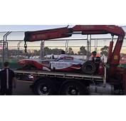 Journo Describes Terrifying Two Seater F1 Crash  Speedcafe
