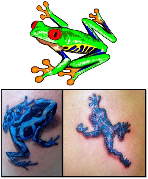 in memory of tattoos with frogs pictures to pin on