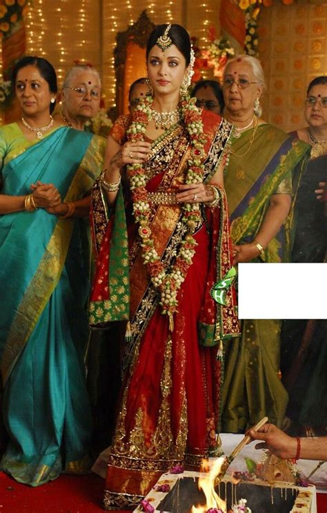 film india wedding aishwarya rai robot movie red net lehenga saree order here