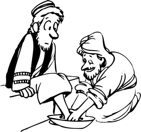 free printable coloring pages of jesus washing the disciples d being humble help with the tough questions