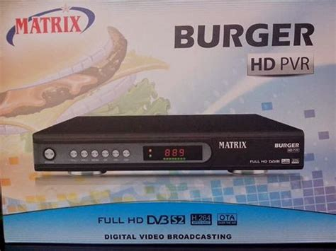 Harga Receiver Matrix Burger Mpeg4 matrix burger hd pvr arin parabola