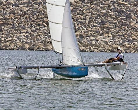 trimaran under sail small trimarans under 20 archive boat design forums