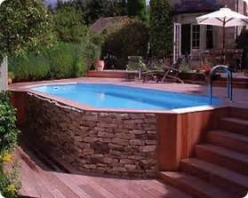 Burying A Dog In The Backyard 10 Awesome Above Ground Pool Deck Designs