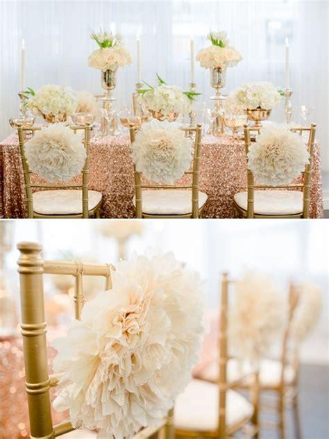 wedding themes with rose gold glamorous rose gold wedding ideas