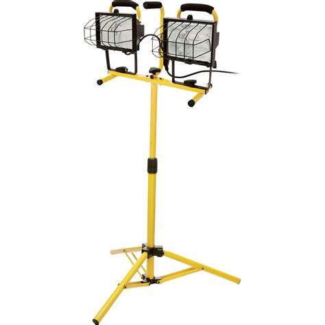ironton halogen dual tripod worklight 1000 watts