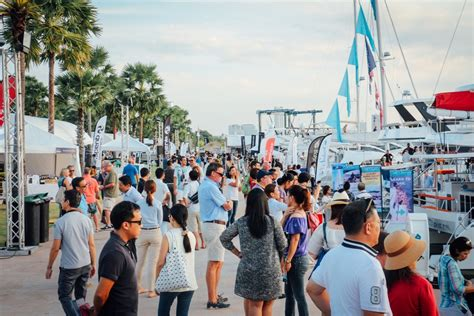 marina boat show ocean marina pattaya boat show to set sail with best in
