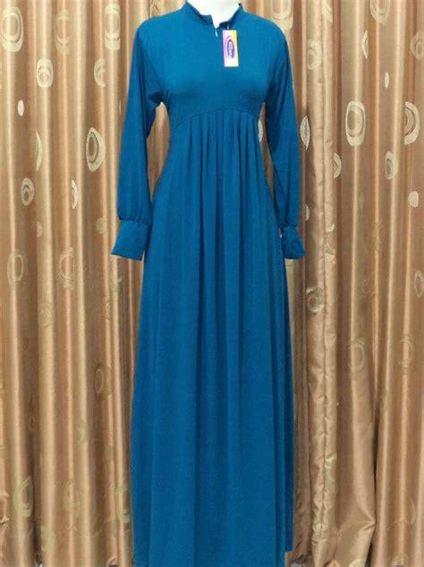 Baju Muslim Gamis Jersey Baju Gamis Bahan Jersey Terbaru