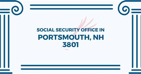 social security office in portsmouth new hshire 03801