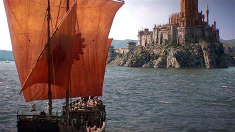 game of thrones boat scene game of thrones season 6 trailer review brahma news