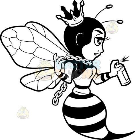 Sprei Honey Bee a bee spray painting the wall bee spray