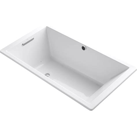 kohler bathtub kohler k 1173 g 0 underscore white air tubs tubs