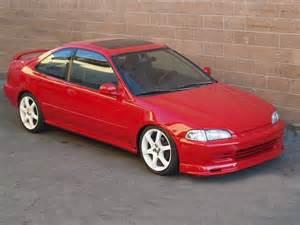 Honda Civic Ex Coupe 1995 Autoland 1995 Honda Civic Ex Coupe Vtec New Paint Rims
