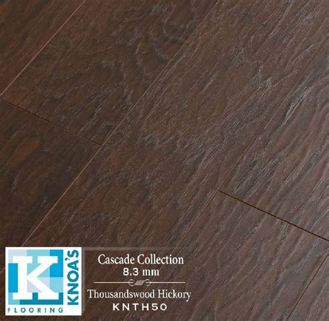 hickory thousandswood hand scrape laminate flooring houston